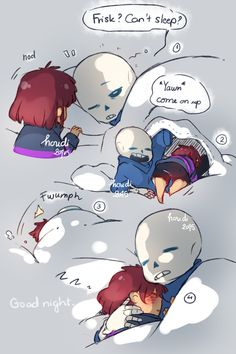 Undertale | frisk and sans