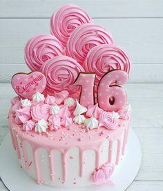 48 Ideas Birthday Cake Diy Drip For 2019 Cake Icing, Buttercream Cake, Cupcake Cakes, Beautiful Cakes, Amazing Cakes, Little Pony Cake, Bolo Cake, Funny Cake, Diy Cake