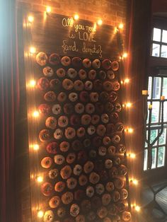 Donut Wall!  Get your own here:  https://www.etsy.com/listing/540854333/donut-wall?ga_order=most_relevant&ga_search_type=all&ga_view_type=gallery&ga_search_query=donut%20wall%20wedding&ref=sr_gallery_26