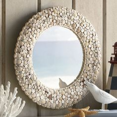 Seashells by the Seashore Mirror from Through the Country Door®