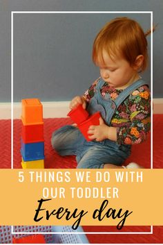 5 Things We Do With Our Toddler Every Day - A Spoonful of Fun :: Parenting Tips Baby Play, 5 Things, First Night, Parenting Hacks, To My Daughter, How To Remove, Activities, Day, Kids