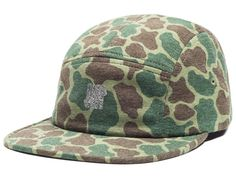 Camo Technical 5 Panel Cap by UNDEFEATED
