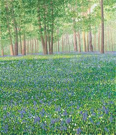 Bluebell Woods II limited edition print