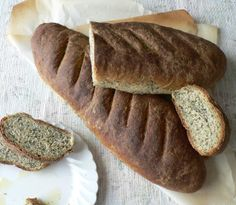 Whole Wheat Spinach Bread - surprisingly not spinach tasting but so pretty and healthy!