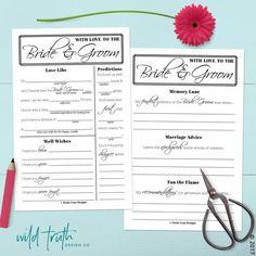 Printable Wedding Guest Libs Download