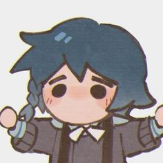 Anime Chibi, Kawaii Anime, Best Waifu, Cute Icons, Anime Art Girl, Aesthetic Anime, Cute Art, Art Inspo, Art Reference