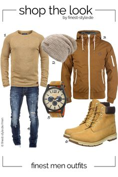 e42f3b78cd43ac Cooles Männer-Outfit kombiniert mit Teilen von Hugo Boss Orange