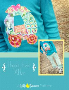 Happily Ever After Appliqué Pattern PDF by MollyBlossomDesign, $3.50