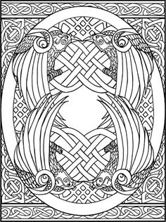 Celtic Love KnotworkColoring Pages For Adults More Information Design
