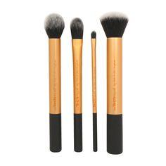 Real Techniques -meikkisiveltimet, osta 2 saat edullisemman puoleen hintaan. Koskee myös sivellinsettejä.  NINJA, E-taso