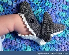 Little shark socks