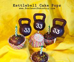 Kettlebell Cake Balls