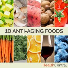 Help your body from the inside out! These 10 anti-aging foods are delicious and help you stay looking and feeling young.