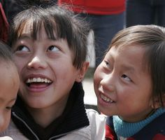 a couple of precious Chinese children