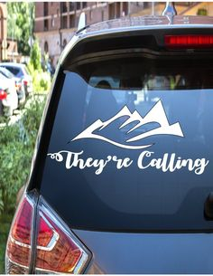 Explore Decal // Mountain Decal // Camping Decal // Outdoor Decal // Adventure Decal // by Casey Bros Signs Get Outdoors, Car Decals, Wilderness, Cool Designs, Mountain, Camping, Explore, Adventure, Cars