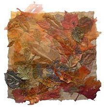 Leaves, Textiles, Synthetic Fabrics, Painted Tyvek, Heat Gun, Soldering Iron,