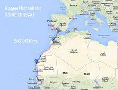 GAS na Guiné - ''...Aqui está aquele que vai ser o Percurso que toda a caravana vai ter que percorrer. São cerca de 5.000 kms até chegar-mos a Bissau, onde será montado o quartel general, para depois partir para outras regiões da Guiné, como Quinhamel, Ondame, Cachungo, Cachéu, Bafatá, Gabu...'' http://www.bloggers-rule.com/blog/gas-na-guin-misso-humanitria-lazy-millionaire-guin