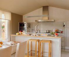 moda decoración cocina comedor integrado