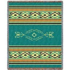 Navajo throw blanket - $52.00