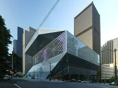 SEATTLE-PUBLIC-LIBRARY- WASHINGTON-USA-Rem-Koolhaas-ARCHITECTURE