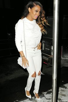 30f98be6a13 LaLa Anthony at Madison Square Garden for the New York Knicks versus the  Miami Heat game in New York City
