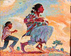 Shonto Begay, Navajo ~    'Kinaalda' Into Hope