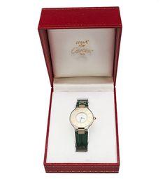 Cartier Vintage Must De 21 1330 Two-Tone Stainless Steel Quartz Watch
