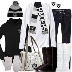 Oakland Raiders Winter Fashion