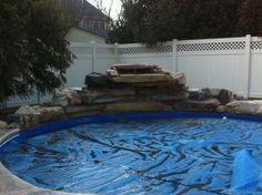 Pool Waterfall Ideas 17 lively pool waterfall ideas that will blow you away Find This Pin And More On Creative Ideas Boulder Swimming Pool Waterfall A