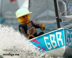 Lego Ben Ainsley - sailing home