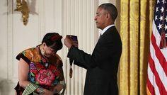 Sandra Cisneros just took home an award of a lifetime. President Barack Obama…