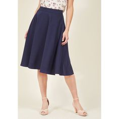 Just This Sway Midi Skirt ($60) ❤ liked on Polyvore featuring skirts, apparel, bottoms, full skirt, varies, flared skirt, midi circle skirt, high waisted circle skirt, skater skirt and high waisted midi skirt