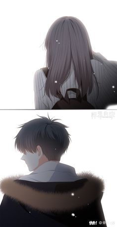 When two lonely hearts look out and find each other, there are never alone again. Anime Cupples, Anime Angel, Kawaii Anime, Anime Guys, Sad Anime Couples, Anime Couples Drawings, Manga Couple, Anime Love Couple, Anime Triste