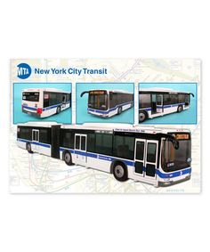 Daron New York City MTA Metro Articulated Hybrid Electric Bus Scale- 16 Inches long Boeing Aircraft, Passenger Aircraft, Play Vehicles, Model Building, Diecast Models, Toy Store, Military Aircraft, Motor Car, Military Vehicles