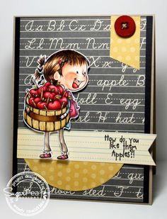 How do you like them apples?! by Nin Nin - Cards and Paper Crafts at Splitcoaststampers