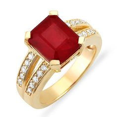 Vintage Style 5.0 ct Ruby and Diamond Ring set in 14k Solid Gold Passion Gems,http://www.amazon.com/dp/B008EU4PWM/ref=cm_sw_r_pi_dp_cagstb0KM731KHGB
