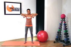 FREE Barre Pilates Upper Body Workout - Arms and Abs BARLATES BODY BLITZ