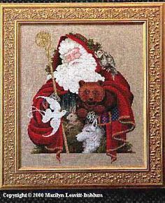 "Lavender & Lace ""Santa Of The Forest"""
