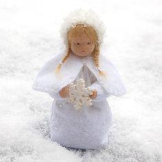 Schneeflockenmädchen