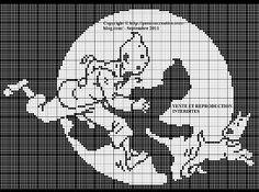 Tintin et Milou monochrome1
