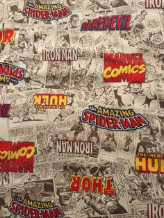 Super Special Avengers comic fabric One yard Super heroes  one yard 110* 100cm 41inch*39inch  Unfinished edges  Made in Japan  100%cotton  Canvas fabric  Note This fabric is already CUT into ONE YAED