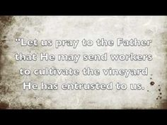 Missionary Oblates of Mary Immaculate's Daily Prayer for November 7 - YouTube