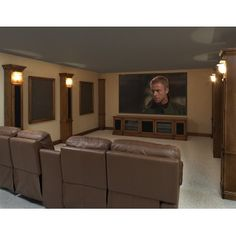 I like this for an entertainment center for that big screen tv in the living room