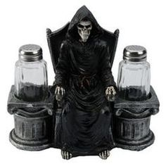 Grim Reaper Salt And Pepper Shaker
