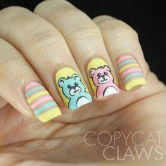 Copycat Claws: The Digit-al Dozen does Childhood: Day 2 Teddy Bears
