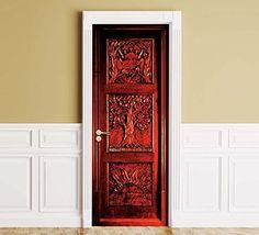 fridges all refrigerator Wooden Wardrobe, Wardrobe Doors, Narnia Wardrobe, All Refrigerator, Door Stickers, Door Wall, Christmas Themes, Tall Cabinet Storage, Room Decor