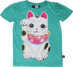 Roxy - Shamrock Dotted Melange - molo short sleeved top with print #KixxOnlineMoloWin