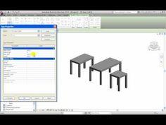 RevitAdvanced Tutorials   Basic Family Table   YouTube FURNITURE · REVIT  ArchitectureCAD SoftwarePrinterPrinters