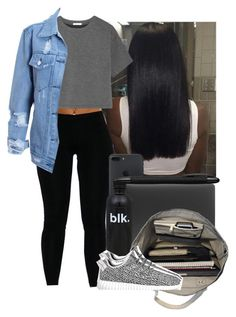 """""""School"""" by heavensincere ❤ liked on Polyvore featuring Incase, T By Alexander Wang, Esperos, adidas and Porsche Design"""