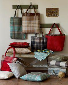 Warwick Highland Tartan Bags